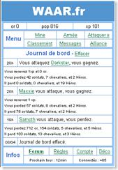 Waar.fr le plus petit jeu en ligne !